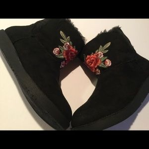Rock & Candy Faux Fur Lined Slip-On Boot